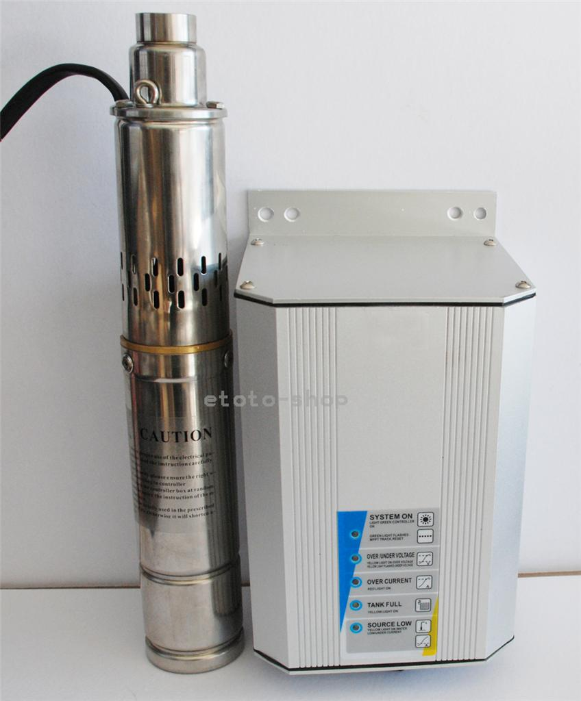 4-550W-72V-SUBMERSIBLE-SOLAR-BORE-PUMP-SYSTEM-Auto-Control