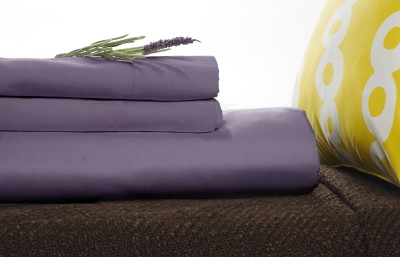 Bamboo Bedding on Bamboo Sheet Set Bed Bedding Queen Lavender Purple New   Ebay
