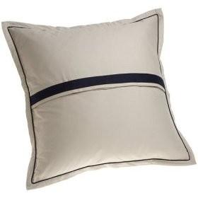 nautica fairfield european pillow sham navy blue ebay. Black Bedroom Furniture Sets. Home Design Ideas