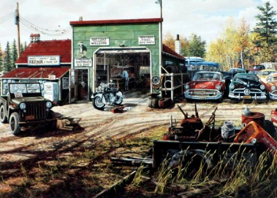 Amidon Car Repair Shop
