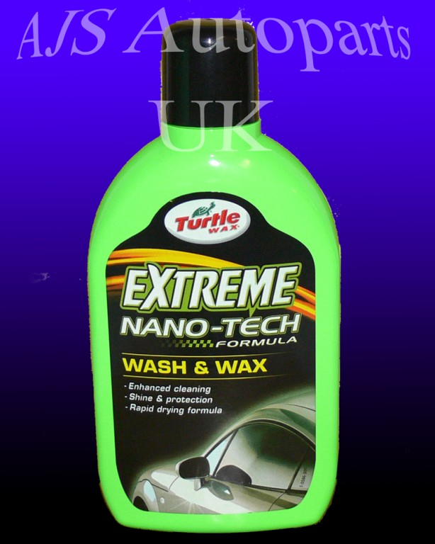 Extreme nanotech shampoo