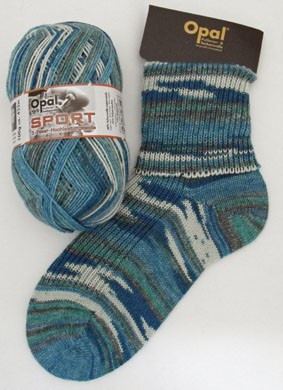 OPAL SPORT SOCK YARN WOOL PLUS FREE KNITTING PATTERN 100g eBay