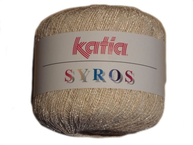 Crocheting Yarn Price : Details about Katia Syros Crochet Yarn With Cotton - 50g Sale Price!