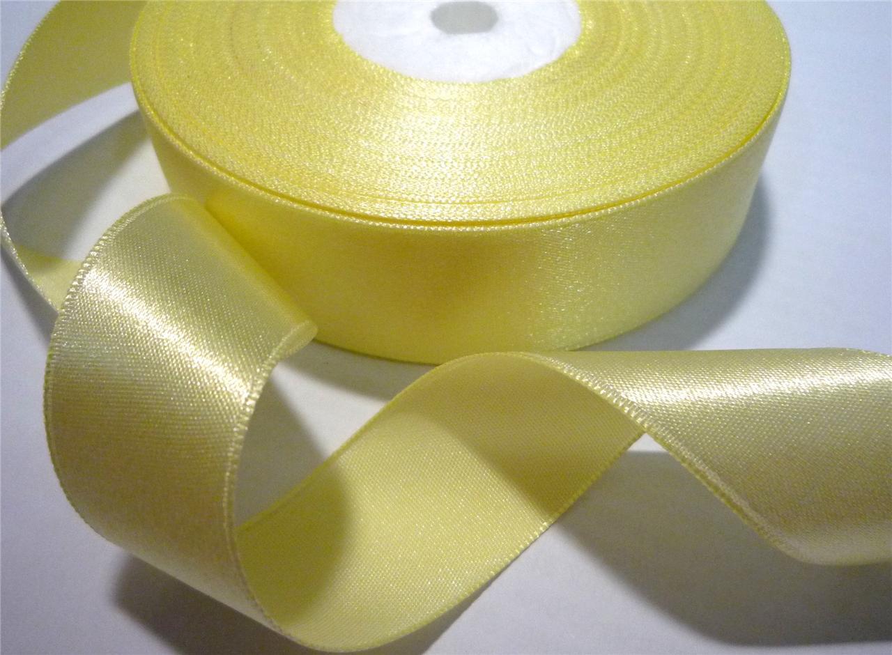 8-yds-7-3-mts-Satin-Ribbon-Trim-Single-Faced-1-034-25mm-width-Upick-Color-SF8