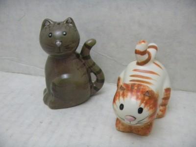 Cute Ceramic Cat Salt And Pepper Shakers Made In China Ebay