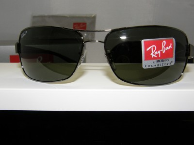 ray ban original check  New Authentic Ray Ban Polarized Sunglasses RB 3379 004/58 RB3379 ...