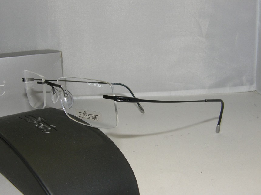 Eyeglass Frames Made In Austria : SILHOUETTE 7665 6062 NEW AUTHENTIC EYEGLASSES 50-21-140