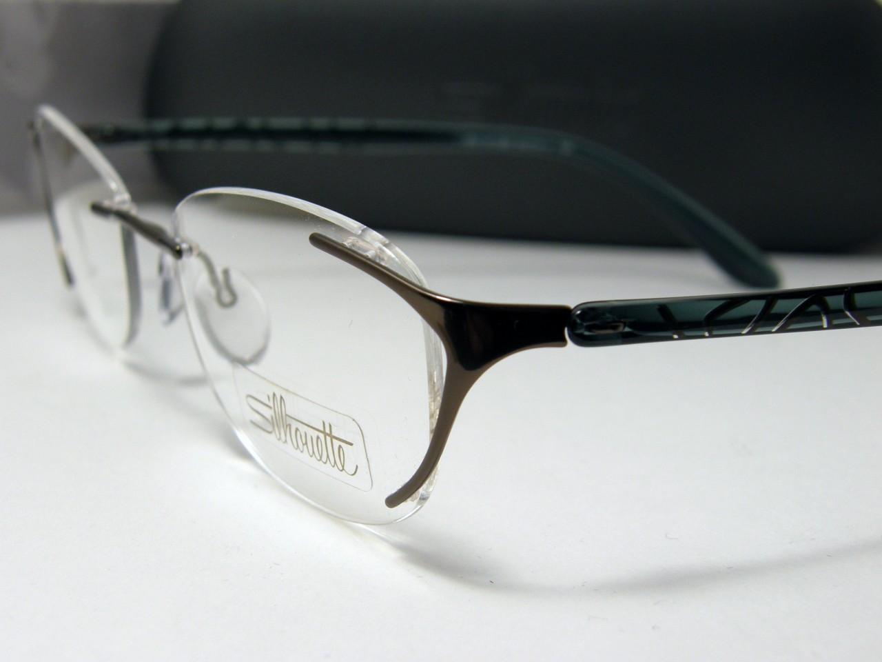 New Authentic Silhouette Titanium Rimless Eyeglasses 6659 ...