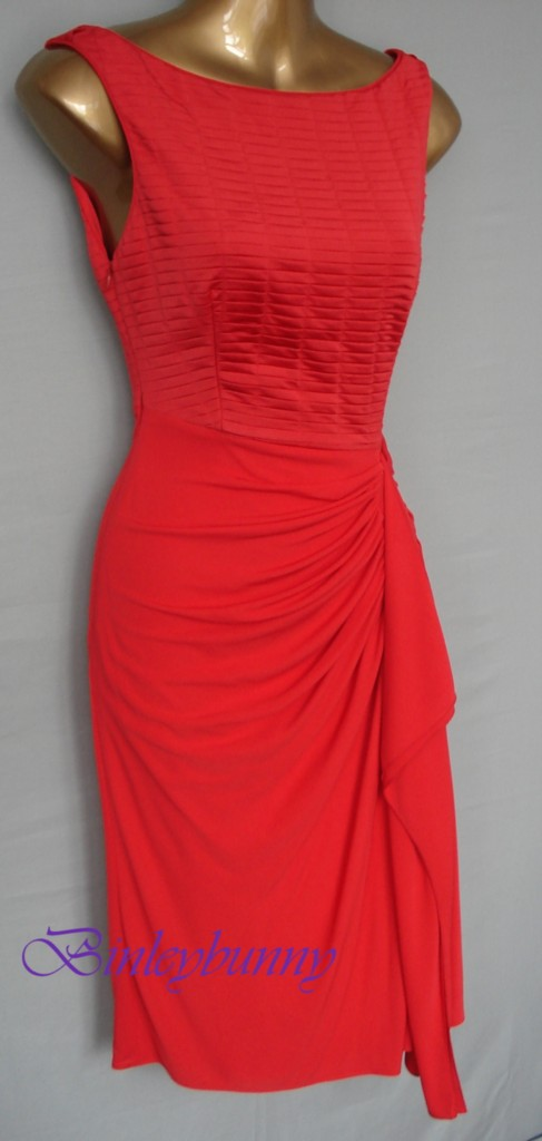 Red dress uk size