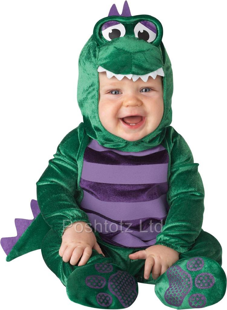 Rated 5 out of 5 by DJLedbett from Great Children's Costume I was well pleased with the quality and overall fit of the Dinosaur costume. I ordered the size for my grandson, who is an average size and used this for a Halloween party/5(8).