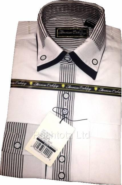 American-Exchange-Boys-White-Shirt-with-Black-Stripe-Detail-Pageboy-Party-2-16yr
