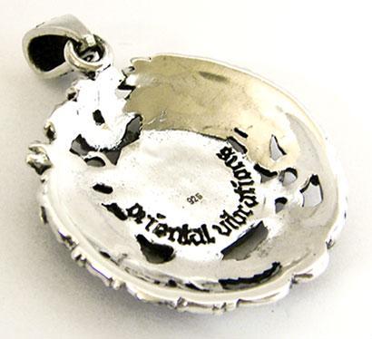 Медальон Дракон и Феникс Инь Янь.