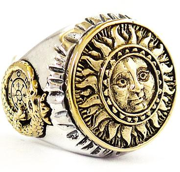 Ancient Wealth Symbols http://www.ebay.com/itm/THE-SUN-TAROT-STERLING-SILVER-FORTUNE-LUCKY-RING-Sz-8-/110697753504