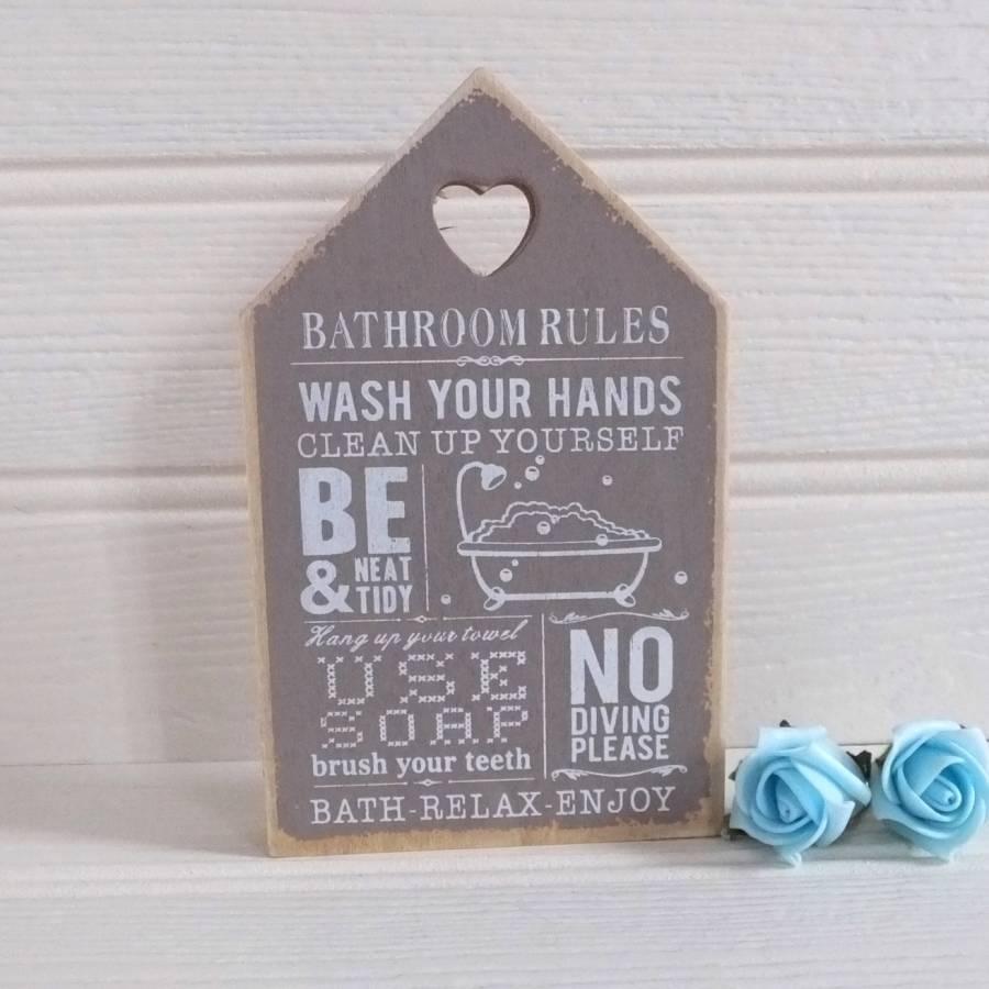 Hanging Bathroom Sign Awesome Design A1houston. Vintage Bathroom Sign   Home Decoration Ideas