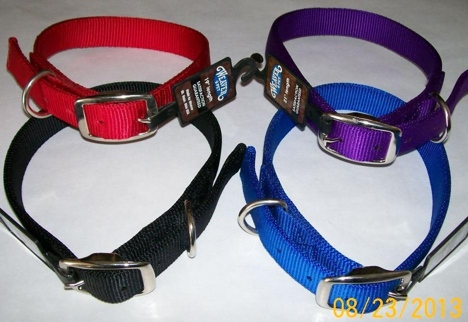 Nylon Dog Collar - Double Ply