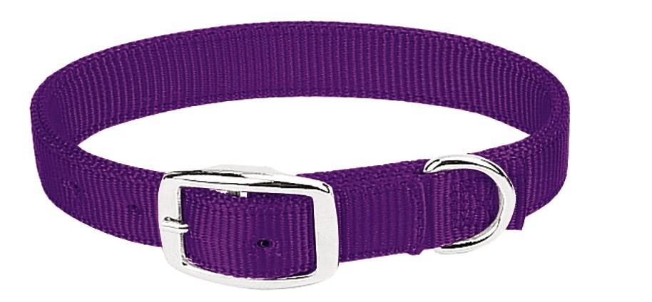 Weaver Prism DBL Ply Nylon Dog Collar - Purple