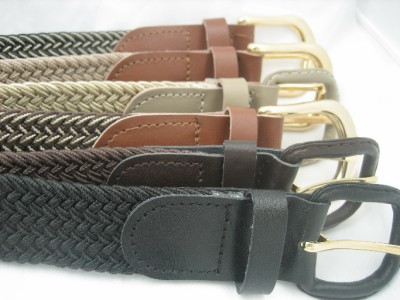 BIG and TALL Mens leather stretch belts   Size 3xl +