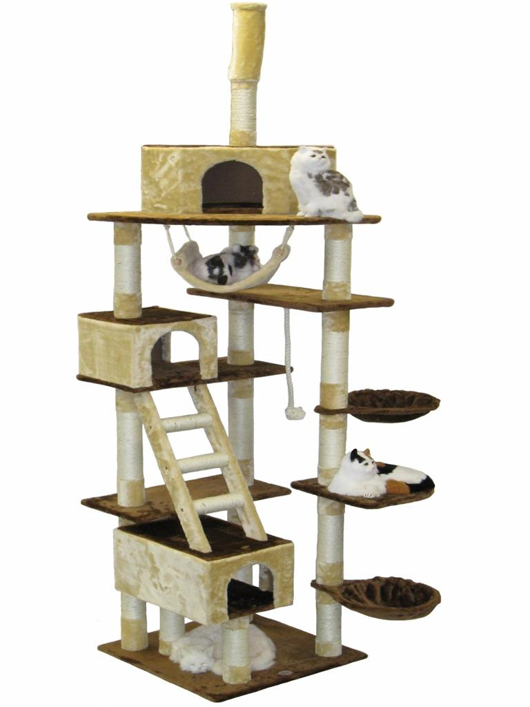 Huge Cat Tree House Toy Bed Scratcher Post Furniture F201