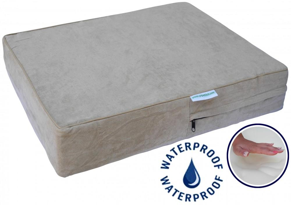 "High Quality 4"" Solid Memory Foam Orthopedic Dog Pet Bed"