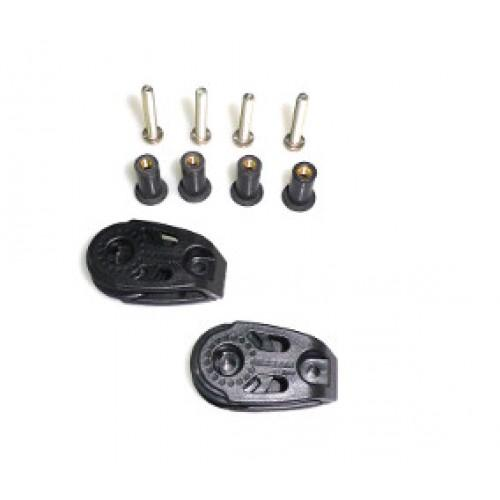 2-Harken-290-Pulleys-with-Stainless-Steel-Hardware-and-Wellnuts-for-kayaks