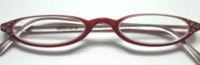 276c1133c4e2 RED Flex Cateye Rhinestone READING GLASSES Readers 3.0 on PopScreen