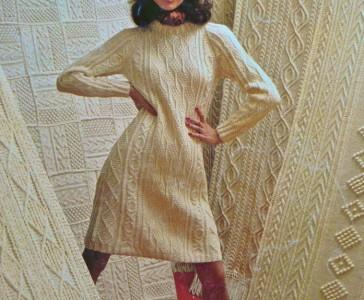 Irish Knitting Pattern Books : VTG KNITTING Pattern BOOK~FISHERMAN Irish Aran AFGHANS~9 ...