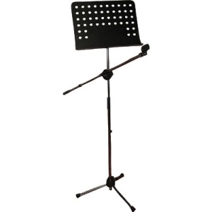 ... Orchestral Rest Microphone Holder Music Notes Podium Symphony | eBay