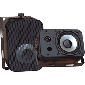 NEW Outdoor Indoor Speakers Pair waterproof Marine Boat