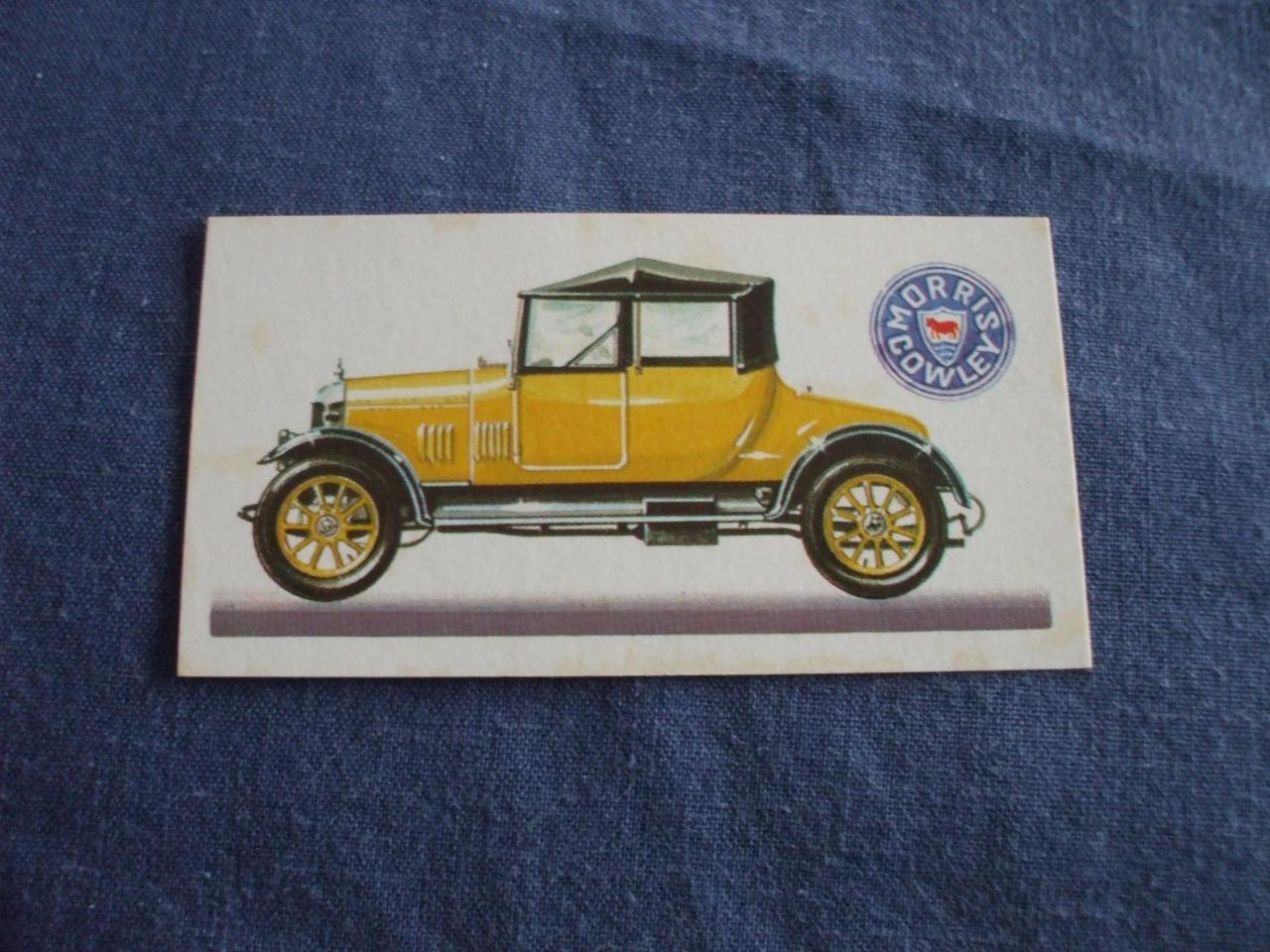 Brooke Bond Tea Cards History Of The Motor Car 1968 Buy