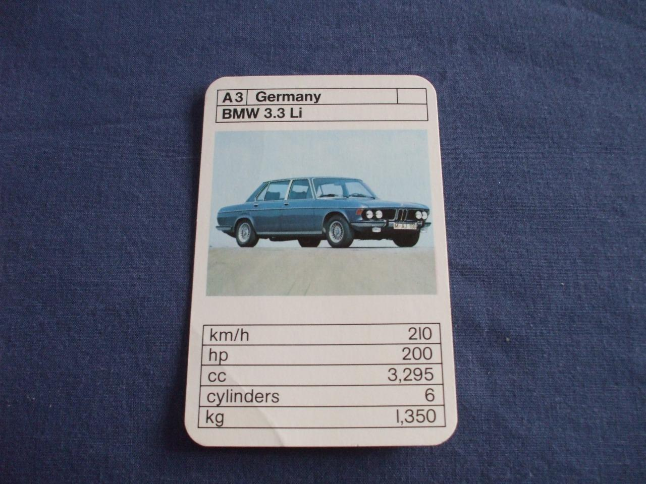 REFDUBREQ TOP TRUMPSSUPER CARS SINGLE CARD SELECTION FROM - Sports cars top trumps