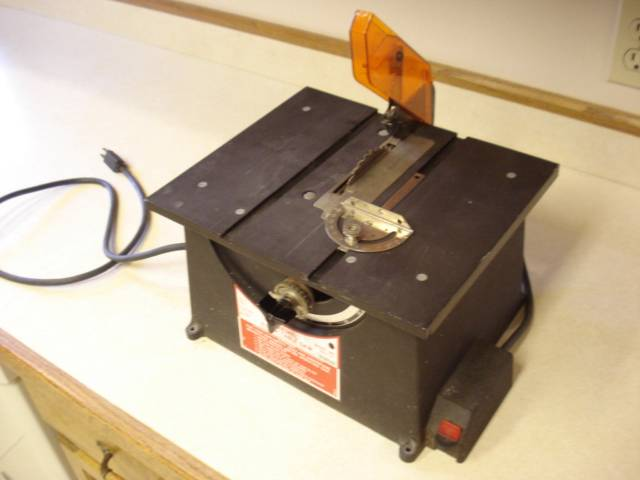 Dremel 4 Inch Table Saw Very Good Condition Ebay