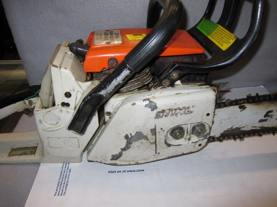 stihl 038 chainsaw parts manual