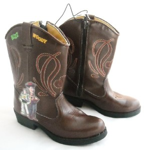 story woody cowboy boots sz 9 buzz lightyear ebay