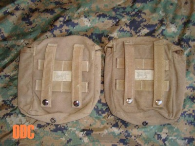 Corps Military Surplus FIRST AID KIT POUCH Coyote Brown MOLLE