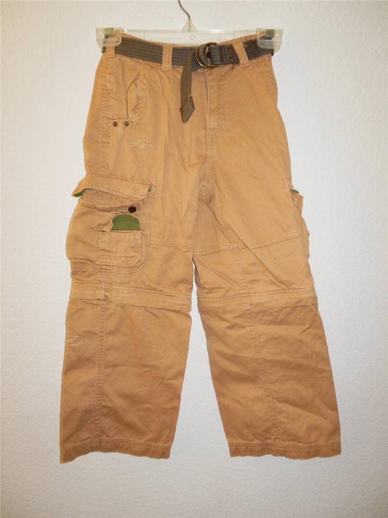 boy 39 s greendog belted cargo pants shorts nwt sizes 7 8 10. Black Bedroom Furniture Sets. Home Design Ideas