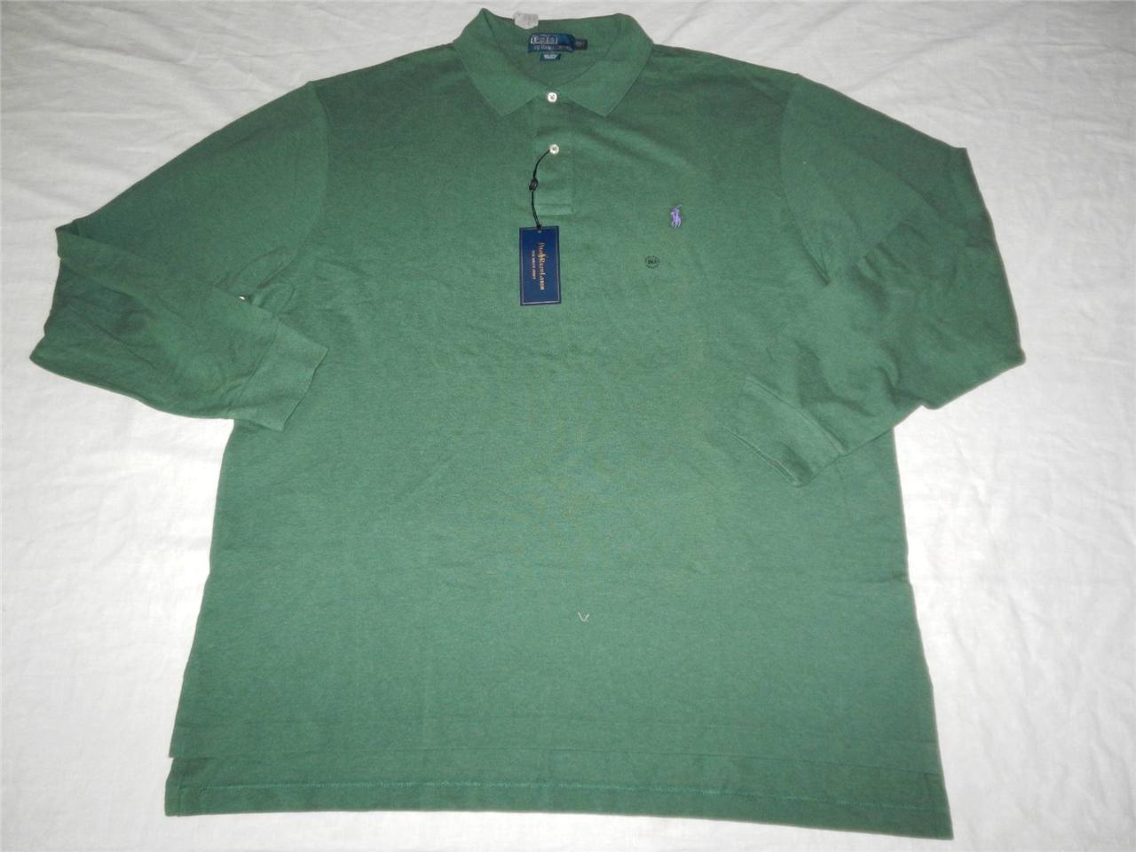 New Men 39 S Polo Ralph Lauren Long Sleeved Mesh Polo Shirts