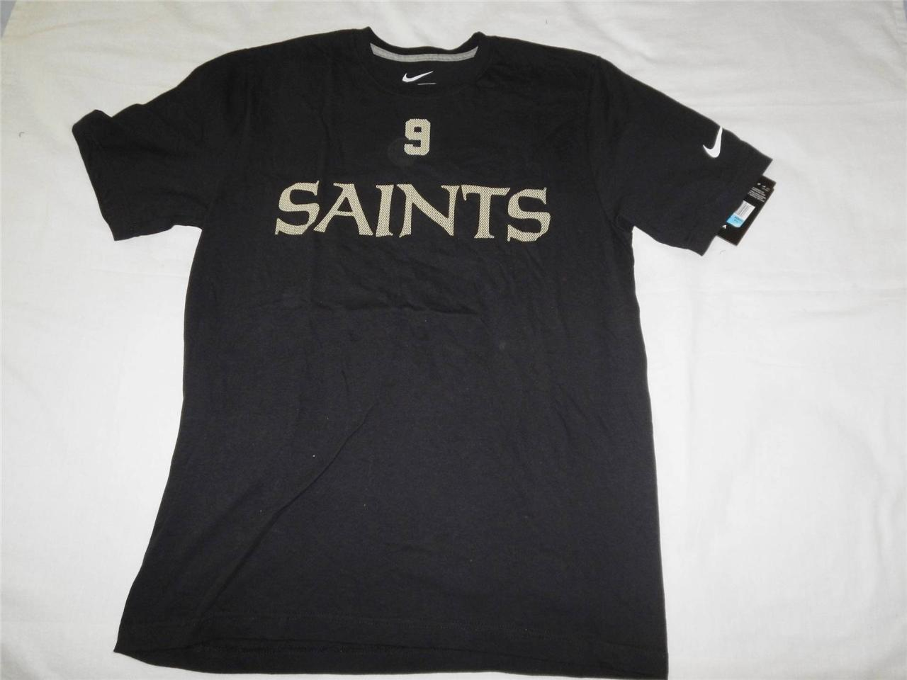 New men 39 s nike new orleans saints shirts in sizes s gray for New orlean saints shirts