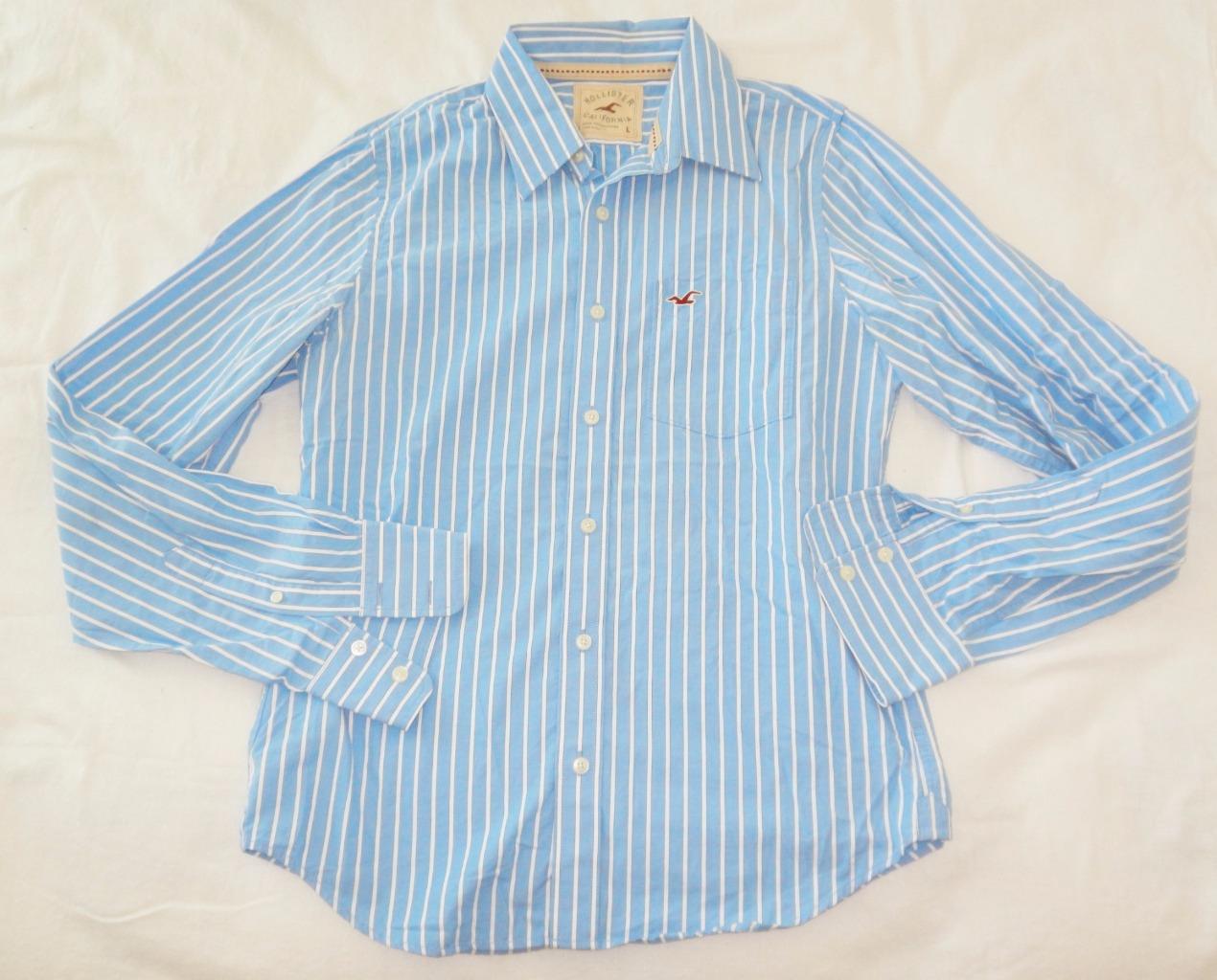 hollister button shirts