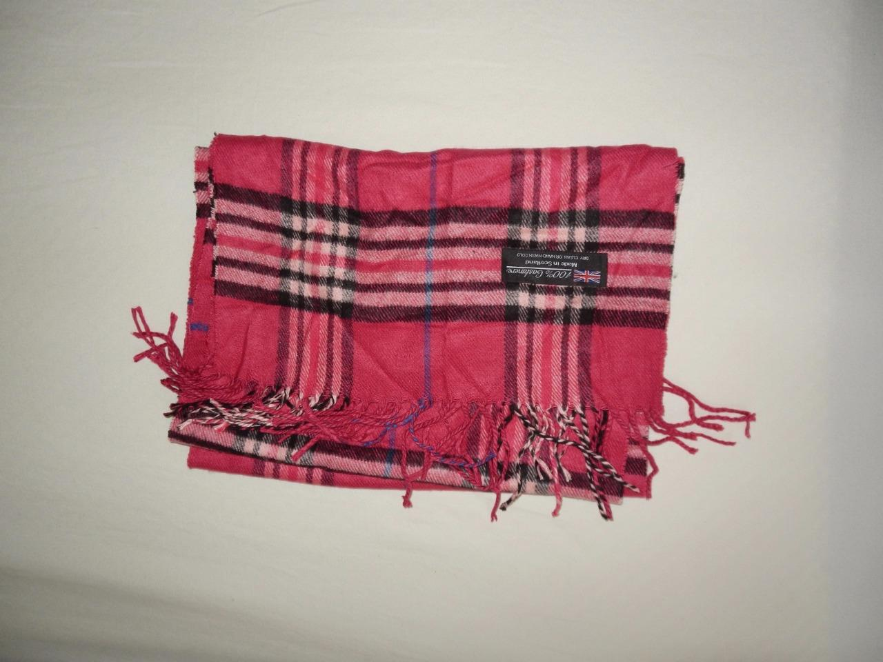 new scarves made in scotland many colors and