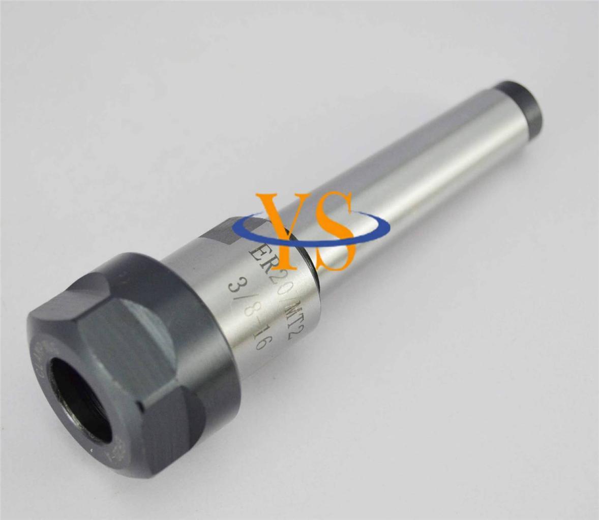 New-ER20-MT2-3-8-16-collet-chuck-cnc-milling-lathe-tools-ER20-Morse-taper-2
