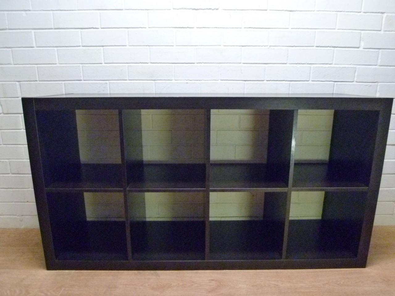 mod ikea 39 expedit 39 cube bookcase display shelf cabinet. Black Bedroom Furniture Sets. Home Design Ideas