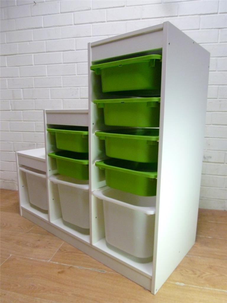 Ikea trofast toy storage unit for Kinderzimmer 6