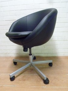 IKEA Skruvsta EGG OFFICE SWIVEL CHAIR AS NEW EBay