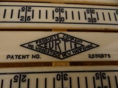 Vintage Curtis Cribbage Counter Auto Bridge Antique Bridge