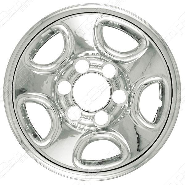 "Chevy Silverado Tahoe Astro GMC Sierra Chrome Wheel Skins Hubcaps 16"""