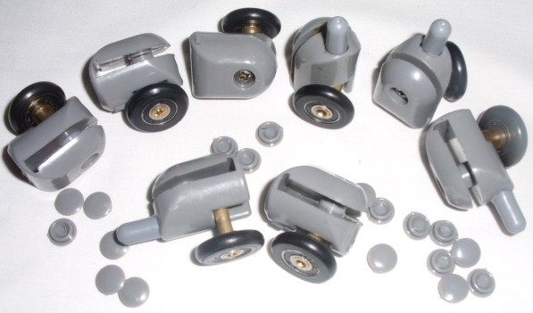 SHOWER-DOOR-WHEELS-ROLLERS-RUNNERS-PULLERS-19-21- & SHOWER DOOR WHEELS ROLLERS RUNNERS PULLERS 19 21 23 25 26 27 ...
