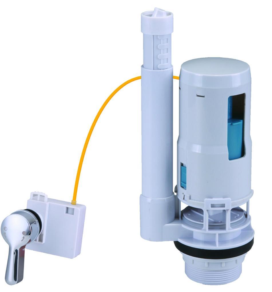 Bathroom cistern fittings - Cistern Toilet Push Button Valve Dual Flush Syphon