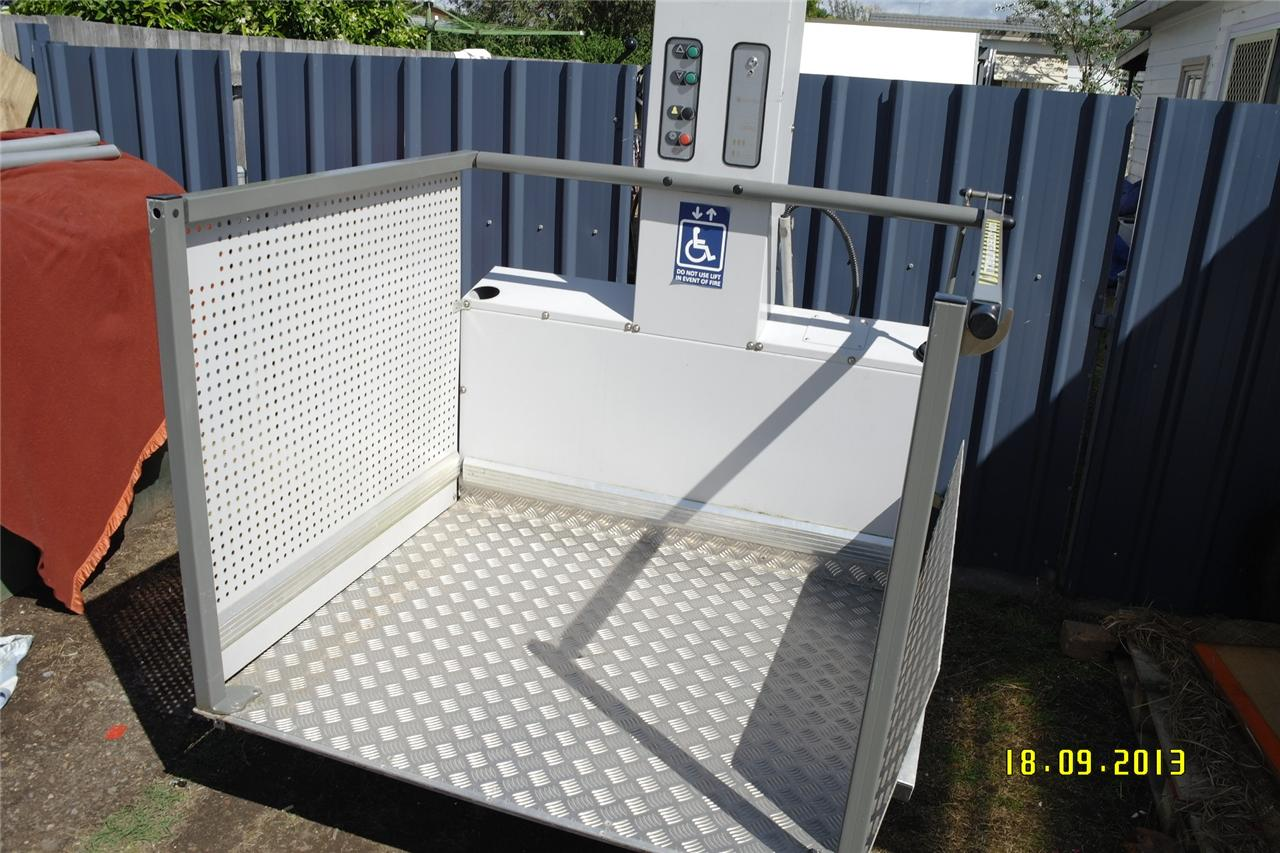 Exterior Wheelchair Lift - Home Design - Game-hay.us
