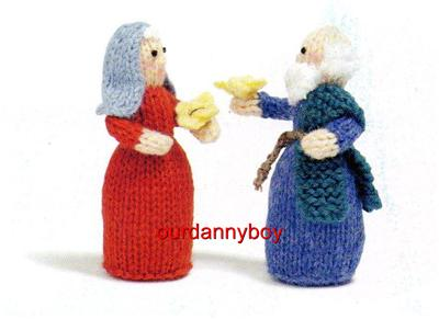 ALAN DART~EASTER~ Toy Doll Knitting Pattern~ NOAHS ARK & ANIMALS~ Ca...