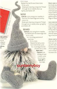 Christmas Gnome Knitting Pattern : FREE ALAN DART GNOME PATTERN Lena Patterns
